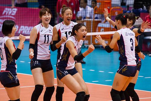 この画像は、サイトの記事「バレーボール 女子 韓国 ネットで話題 YouTube注目無料視聴動画ご紹介!」のイメージ写真画像として利用しています。